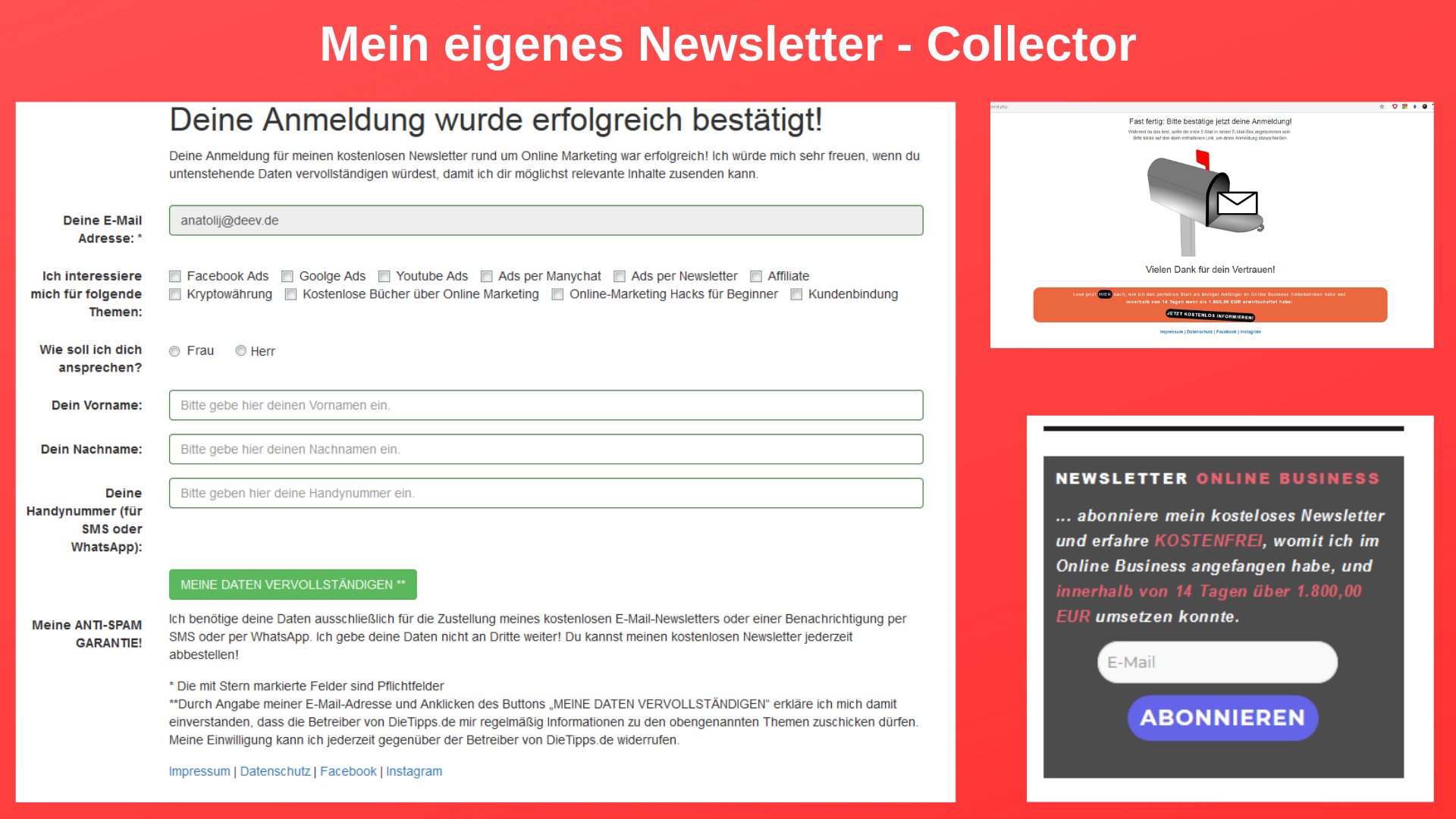 Newsletter Collector