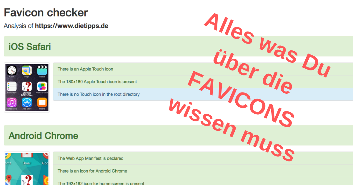 Favicons – Die Tipps
